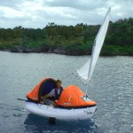 Proactive lifeboat can be sailed to safety